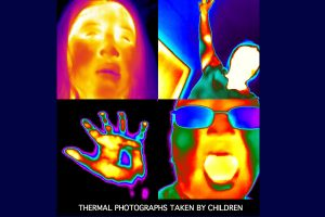 Thermal photographs by kids